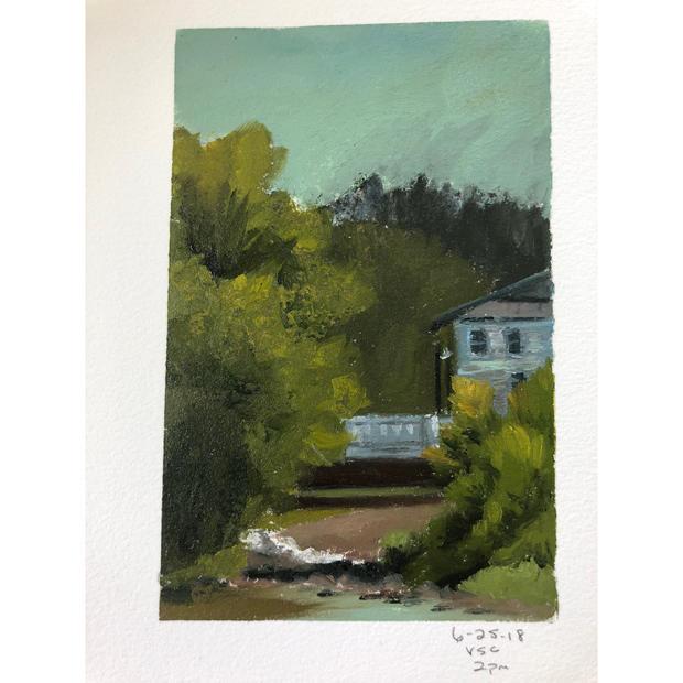 Vermont Studio Center: Bridge Study