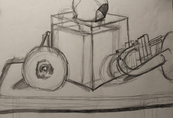 Gesture Drawing of Still-life