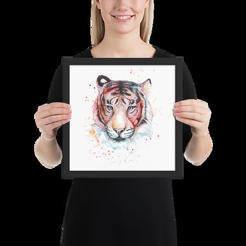 [Tiger] Framed Poster