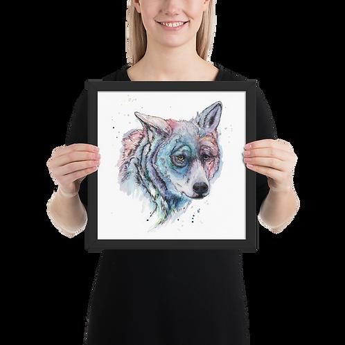 [Wolf] Framed Poster