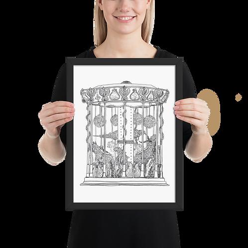 [Emigre Animals] Framed Poster