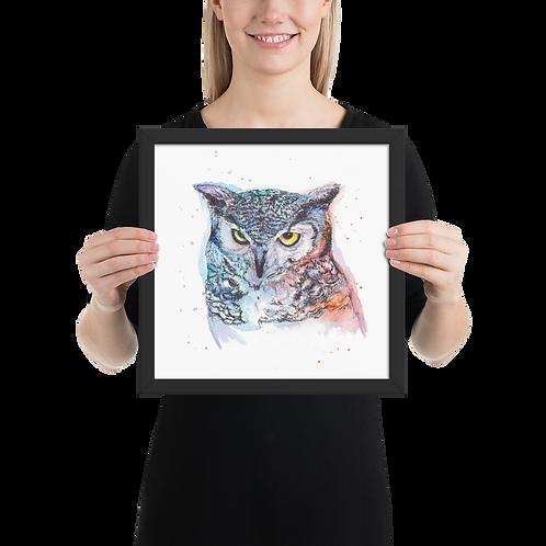 [Owl] Framed Poster