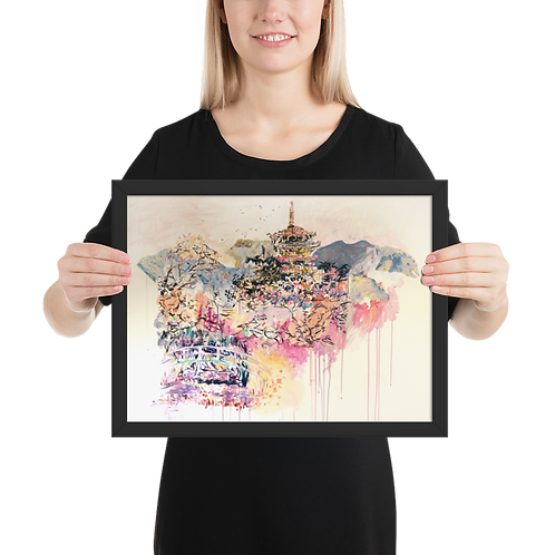 [Landscape] Framed Poster
