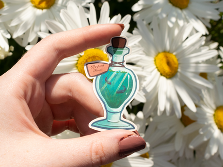 Lilypad Tonic Vinyl Sticker