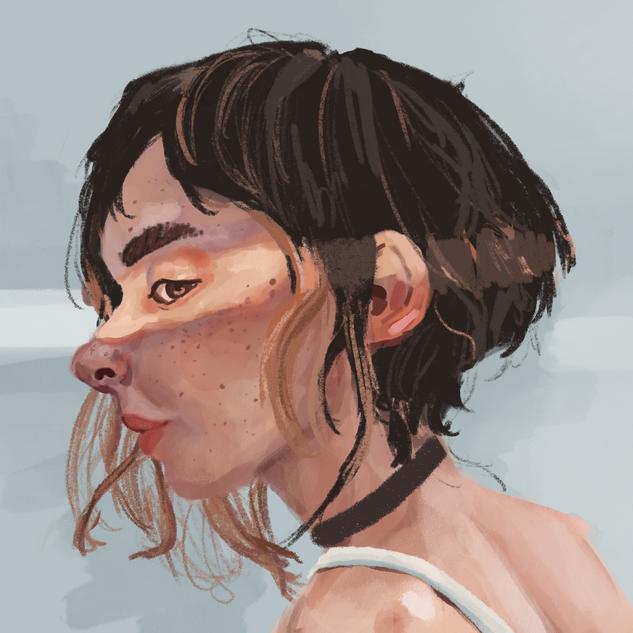 Digital Portrait Study