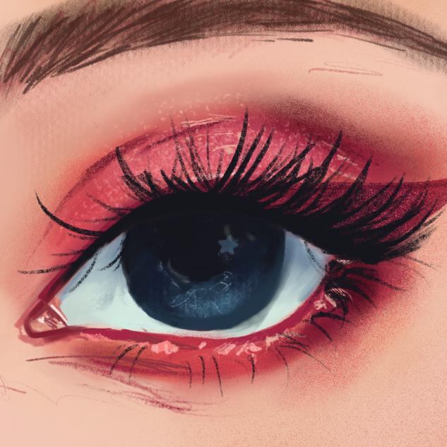 Eye Painting Study