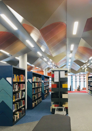 VIC University of Melbourne Southbank Library