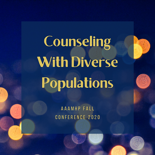AAAMHP Fall Conference 2020