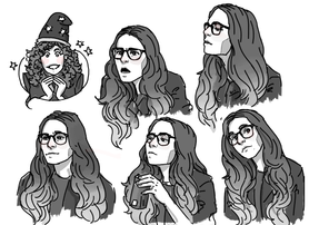 Expression studies of Amy Dallen, 2018