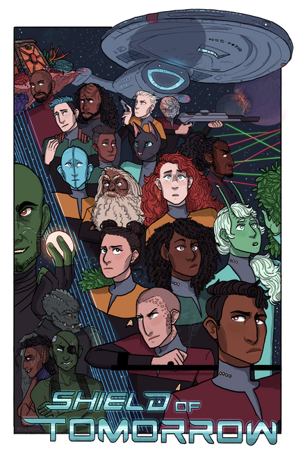 Shield of Tomorrow Poster, 2018