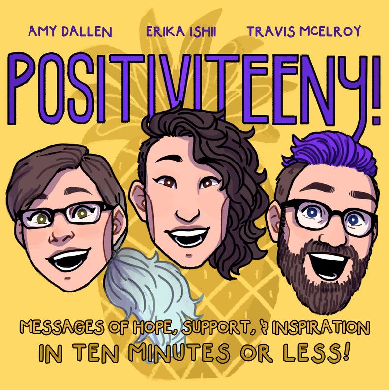Mock variant cover for Positiviteeny!, 2018