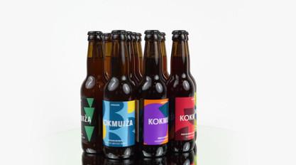 KOKMUIŽA brewery rebranding