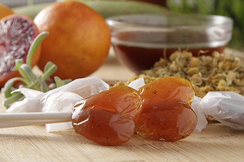 Orange Flavored Barley - Lollipops (Package of 10)