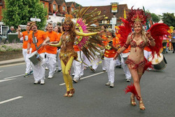 Cranleigh Carnival with Bloco do Sul
