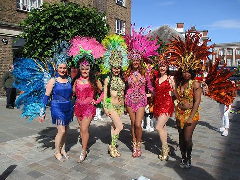 Samba Dancers, Carnival , Passistas
