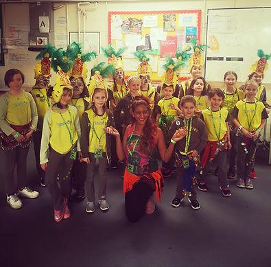 Samba Dance Workshop, Brownies , Surrey 2019