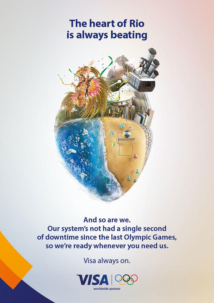 Visa Card Rio Olympics