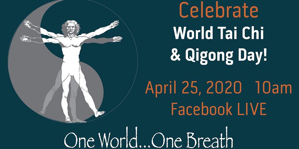 FREE qigong for World Tai Chi & Qigong Day