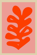 poster flores rosadas