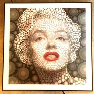 cuadros 3D Marilyn Monroe