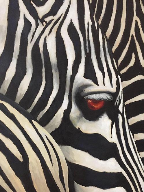 Zebra - 150x120 cm
