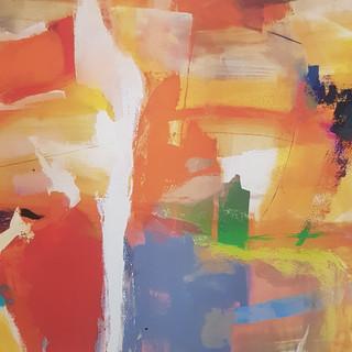 impresión en tela abstractos