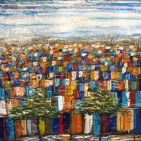 cuadros de ciudades