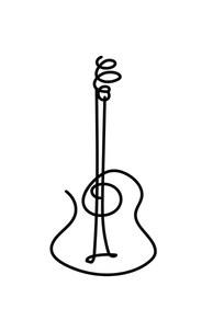 poster guitarra