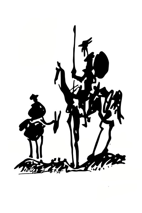 Poster Quijote