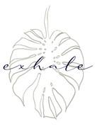 posters de hojas exhale