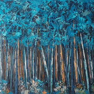 cuadros de árboles, bosques