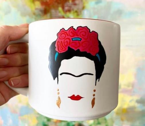 Tazas Frida Kahlo