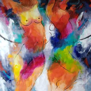 cuadros, arte de figuras femeninas