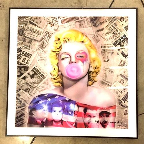 Marilyn Monroe chicle 3D