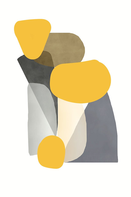 Poster Abstracto 33x25 cm