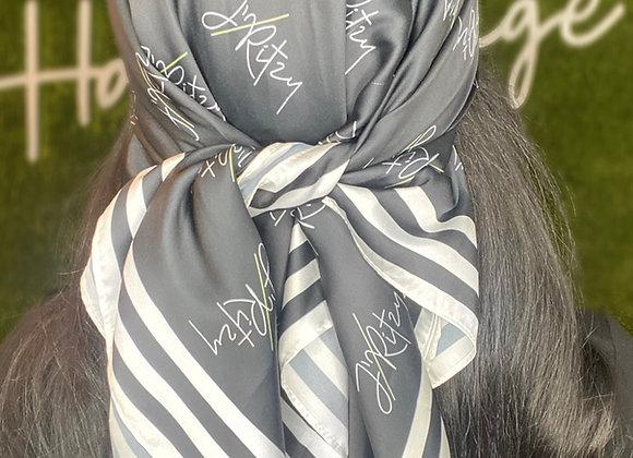 J'Ritzy Signature Silk Scarf