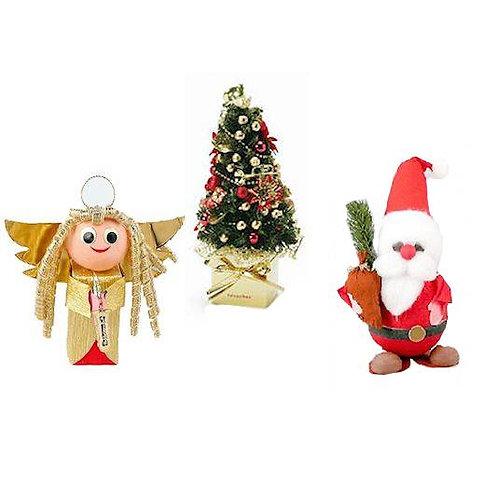 Angels | Santas | Trees