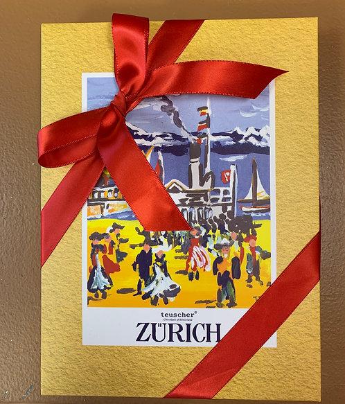 Zurich Box with Assorted Truffes & Chocolate |  9 oz | 18 oz | 36 oz