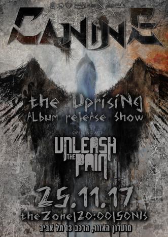 THE UPRISING ALBUM RELESE SHOW poster fi