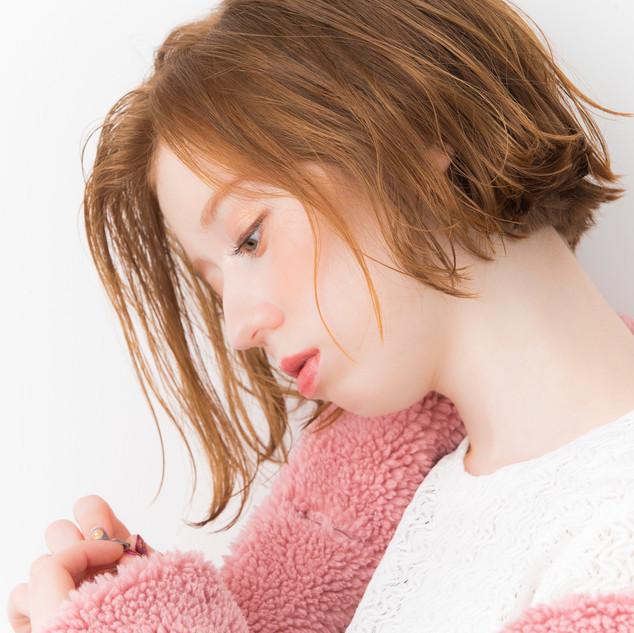 hair:山本健太郎 maike:大岩有紀 styling:井川和哉