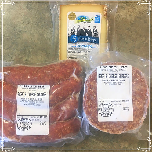 Beef & Cheese BBQ Box - limited time offer