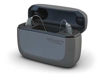 ReSound Apollo Charger Front Open Gloss
