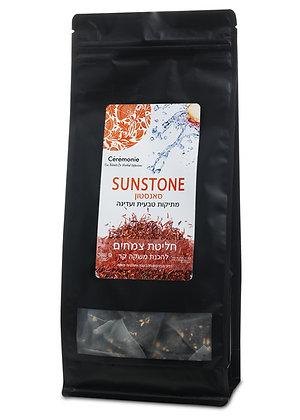 חליטת צמחים סאנסטון - תה קר