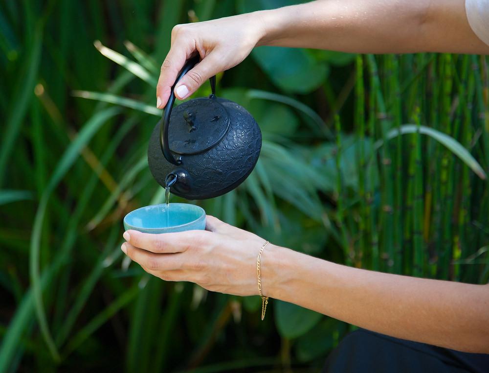 שתיית תה ירוק בבוקר