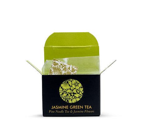 תה ירוק יסמין קוביות מיני