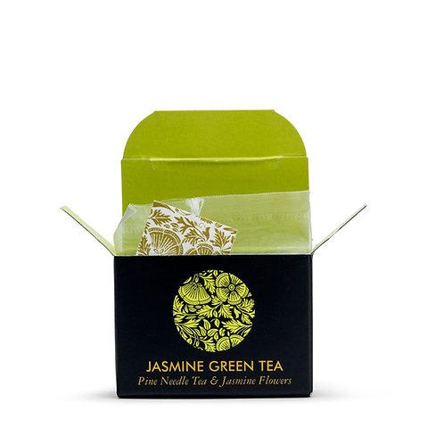 ЗЕЛЕНЫЙ ЧАЙ С ЖАСМИНОМ / Jasmine Green Tea Mini Cubes