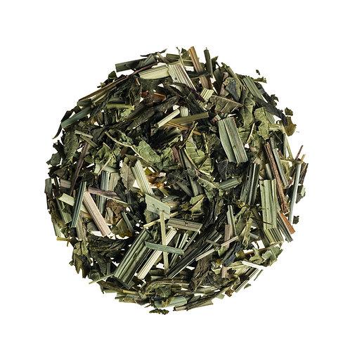 Зеленый листовой чай с цитронеллой / Citronella Green Tea Loose