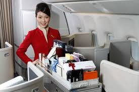 Cathay Pacific Inflight Offer of Ceremonie Tea Gifts