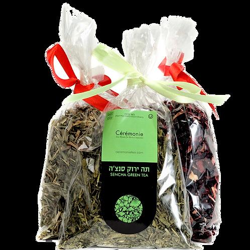 Подарочная упаковка зеленого чая сэнча / Sencha Green Tea Gift Bag