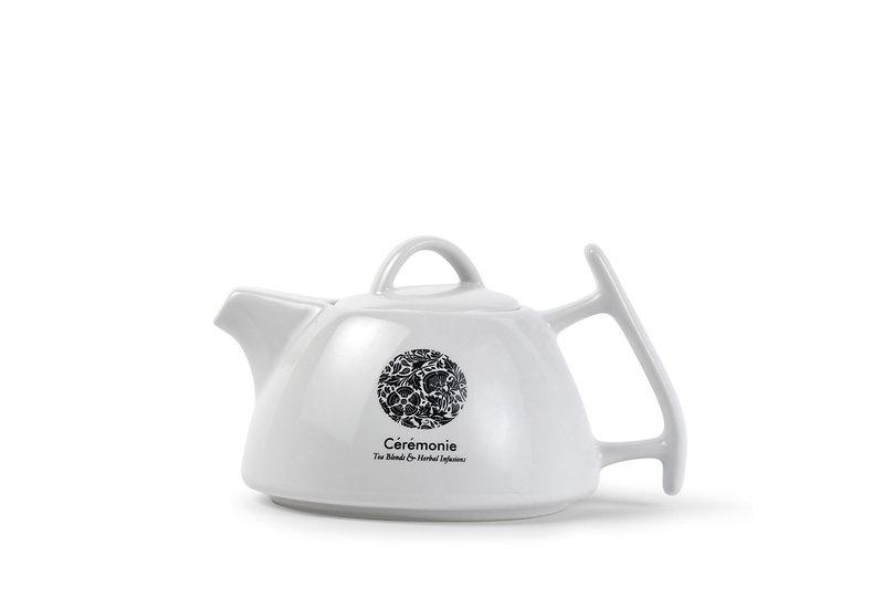 Porcelain White Teapot